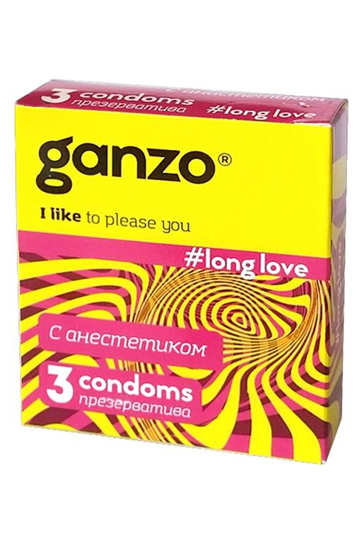 Презервативы Ganzo Long Love № 3