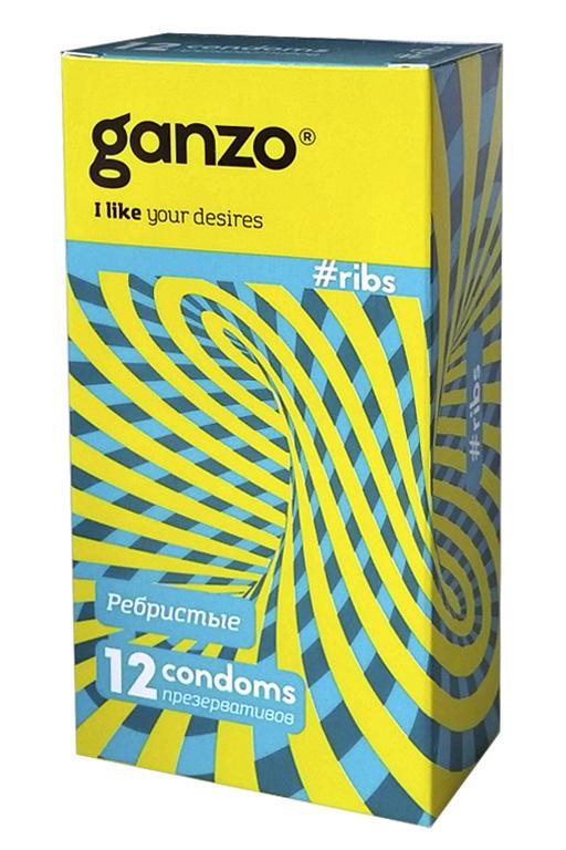Презервативы Ganzo Ribs № 12