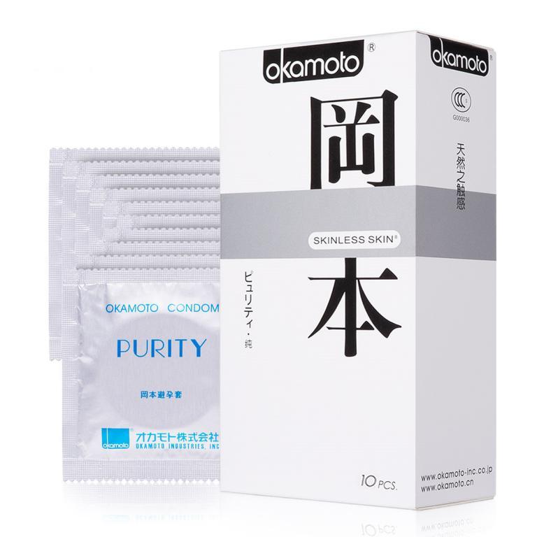 Презервативы Okamoto Skinless Skin Purity/ Классические № 10