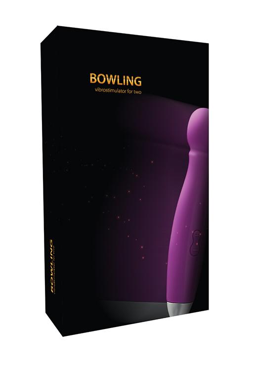 Вибростимулятор для двоих Bowling