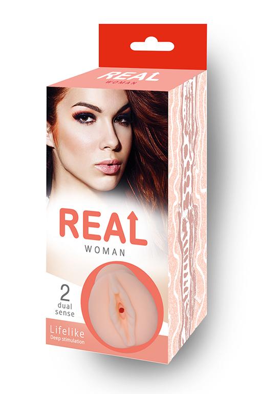 """Большой ультра-реалистик мастурбатор """"Real Woman"""" Рыжая"""