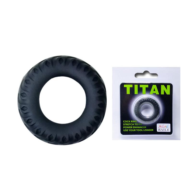Эреционное кольцо TITAN имитация автомобильной шины