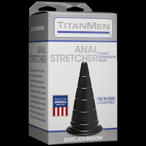 Анальная пробка серии TitanMen - Anal Stretcher 6 Plug