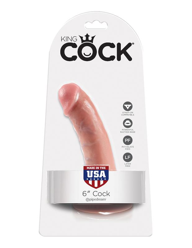 Фаллоимитатор на подошве присоске 6 Cock