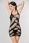Маленькое черное платье-зигзаг Femme Fatale