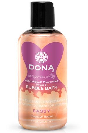 Пена для ванн DONA Bubble Bath Sassy Aroma: Tropical Tease 240 мл