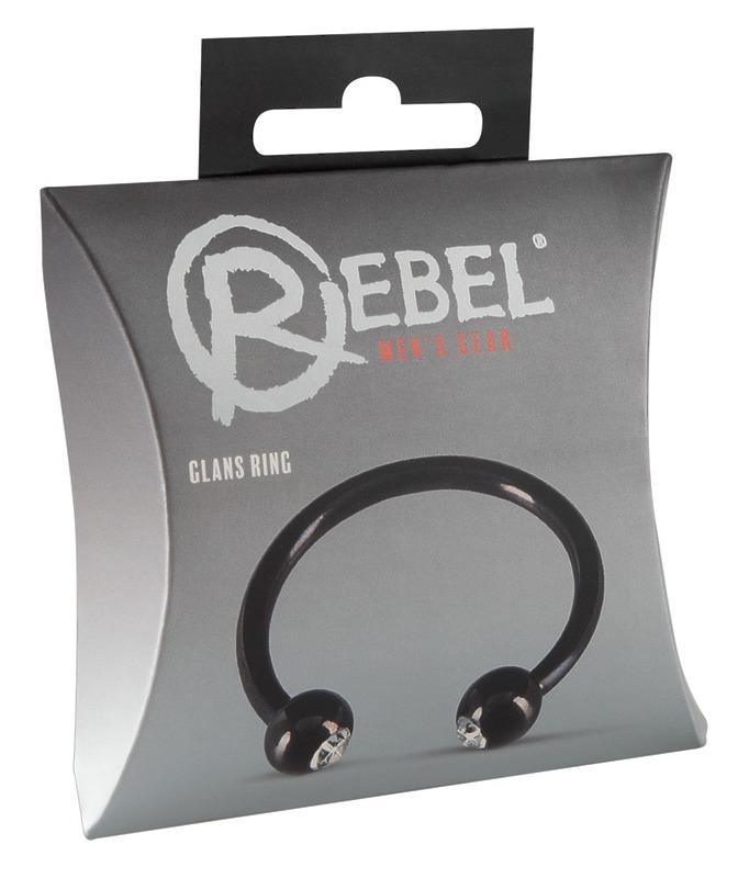 Металлическое кольцо под головку Glans Ring by Rebel