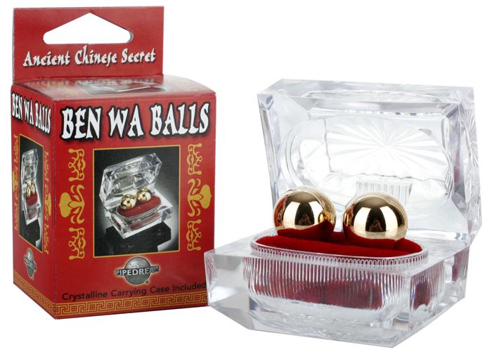 Шарики вагинальные Ben Wa Balls металлические