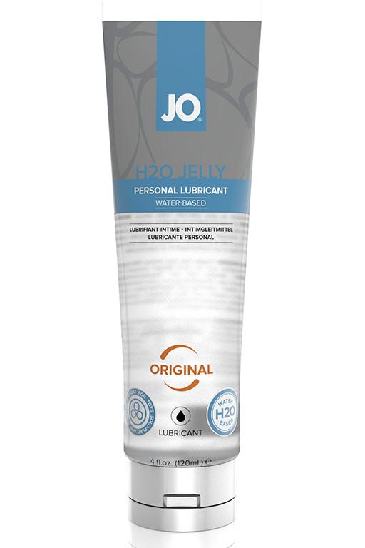 Гелевый оригинальный на водной основе JO H2O JELLY - ORIGINAL 120 мл.