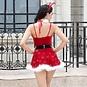 Новогодний костюм эротической Снегурочки №6