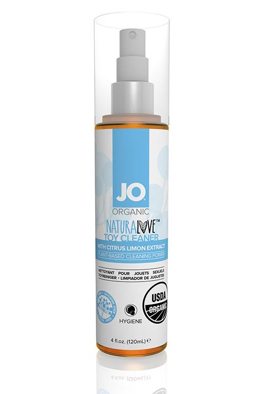 Чистящее средство для игрушек JO ORGANIC - TOY CLEANER - FRAGRANCE FREE, 4 oz  (120 мл)